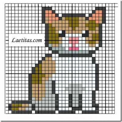 punto de cruz animales mamiferos  (9)