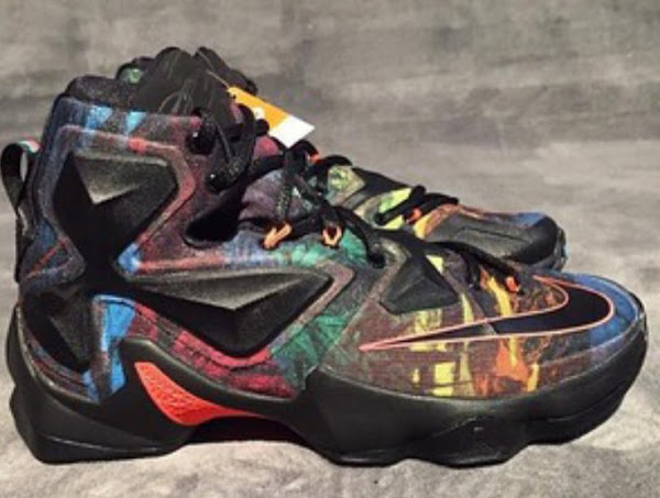 Does This Crazy Colored Nike LeBron 13 Save the Shoe
