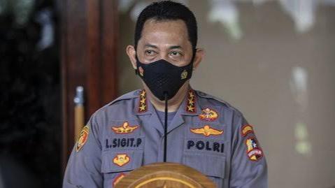 Suara Kapolri Listyo Sigit Menggelegar di Polda Jaya: Siap Perang