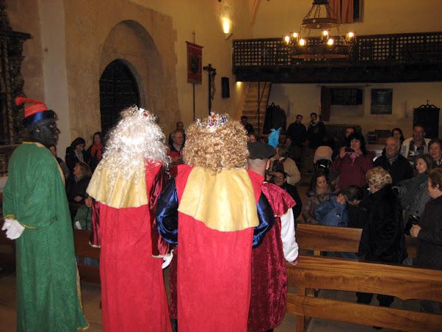 Los Reyes Magos en Sotosalbos