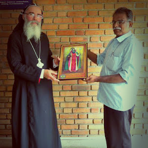 OCP Delegation with Metropolitan Mor Mairam Philipose - Primate of the Eglise Syro-Orthodoxe-Francop