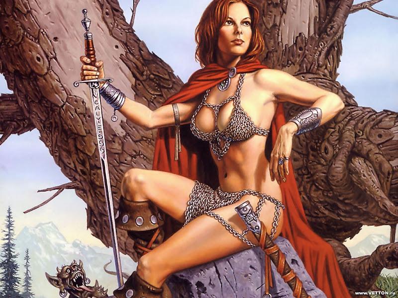 Girl Knight Of War, Warriors 2