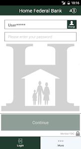 Home Federal Bank Mobile screenshot 1