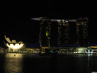 Marina Bay Sands Hotel and Casino - Downtown Sinapore