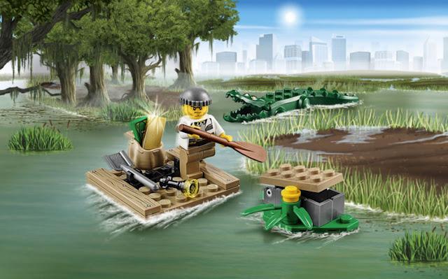Lego City 60070 Water Plane Chase hấp dẫn và lôi cuốn
