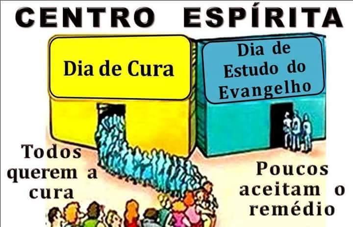 Resultado de imagem para centro espirita cura dia do evangelho