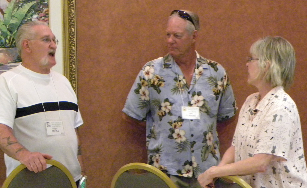 Roger Gress, Dale Claphan, Carol Claphan