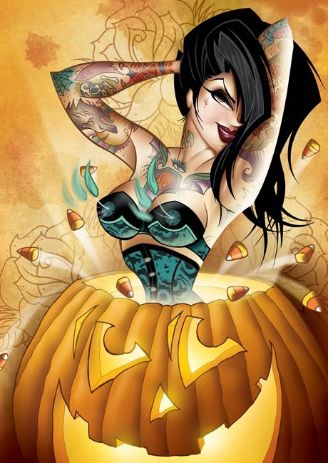 Halloween Jolly Witch, Halloween