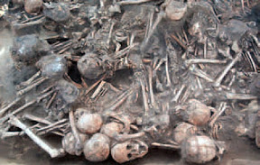 Archaeologists find gruesome 5,000 year-old burial in China