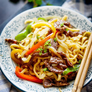 Beef Chow Mein.
