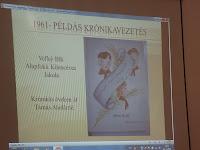 Az iskolai krónikát egykor Tamás Ilonka néni vezette Nagybalogon.JPG