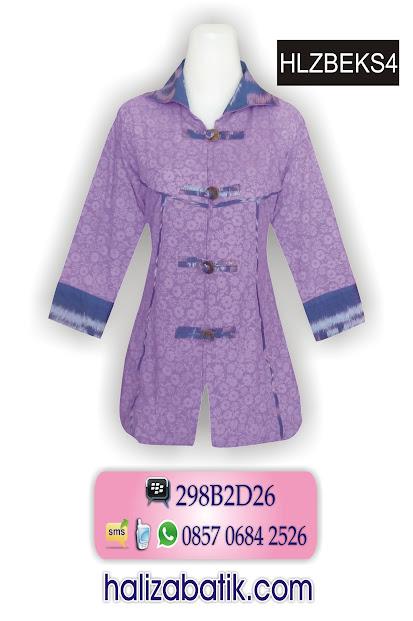 grosir batik pekalongan, Jual Kain Batik, Dress Modern, Baju Muslim Batik