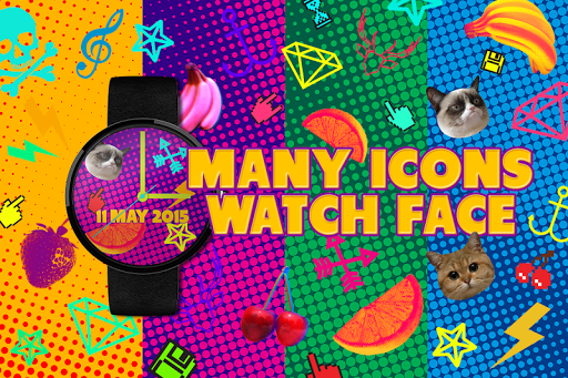 Many Icons - Watch Face