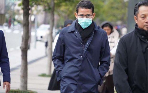 Pulang dari Tiga Negara Kena Flu, Ini Alasan Sandiaga Belum Tes Covid-19