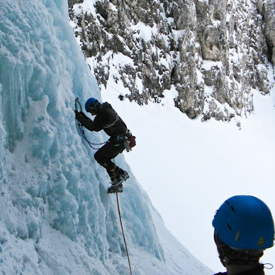 Ice climbing finish with the Czechs
