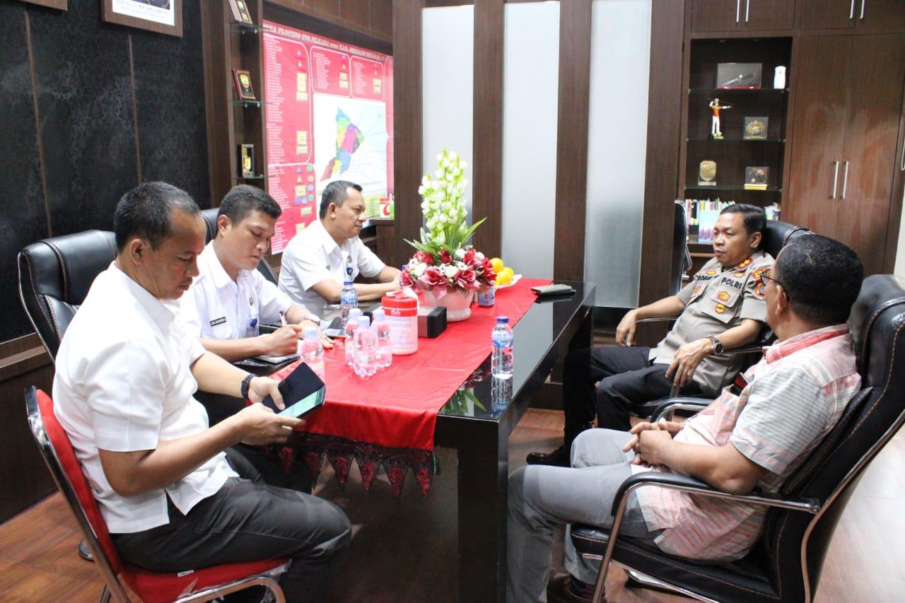 Polres Sergai Bersama BNNK Gencarkan Sinergitas Berantas Narkoba