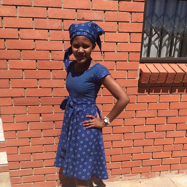 Shweshwe Fabric Designs 2016 Dresses Styles 7