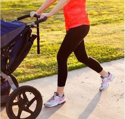 Health Tips: How to Use Stroller to Help Lose Baby Weight