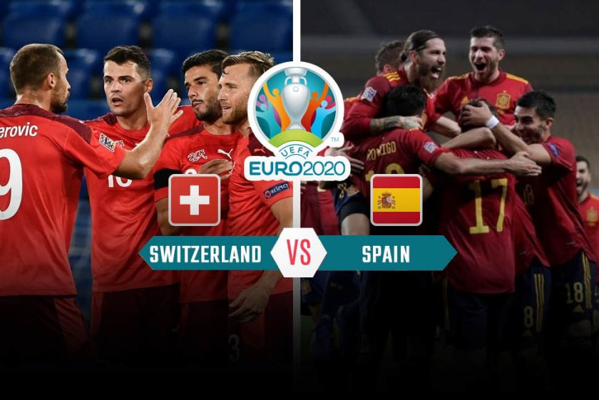 Switzerland vs Spain LIVE! expectation, television, and Euros match stream today