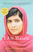 I Am Malala: The Girls Who Stoop Up For Education And Was Shot by The Taliban by Malala Yousafzai, memoir, biography, nonfiction, feminism, female empowerment, Afghanistan