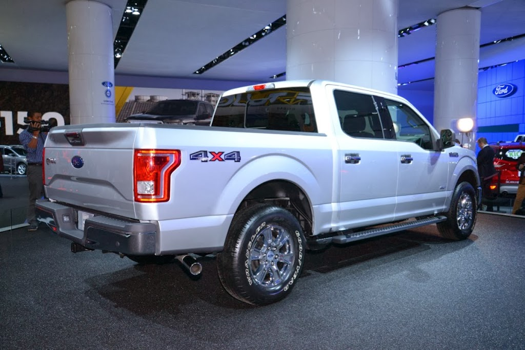 2015 Ford F-150 Unveiling NAIAS 14