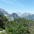 pogled na vrhove sa prijevoja Škrbina