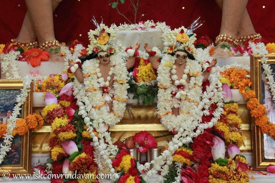 ISKCON Vrindavan Shringar Deity Darshan 29 May  2016 (15)