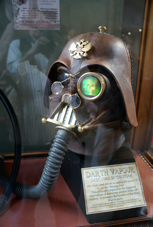 Steampunk Darth?!?