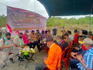 Pertemuan Tim Polri Polda Sultra, Polres Baubau dan Pemda Buteng