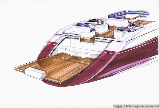 Dibley designed Commander 110 Luxury Performance Cruising Yacht