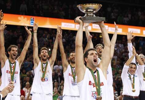 Selección española Eurobasket 2011