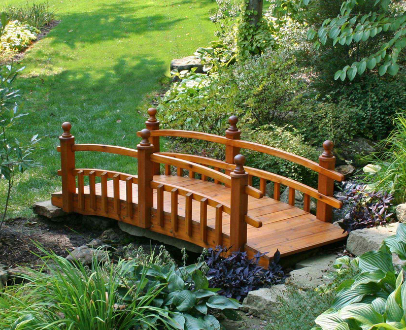 Garden bridges design ideas android apps on google play for Japanese garden bridge design