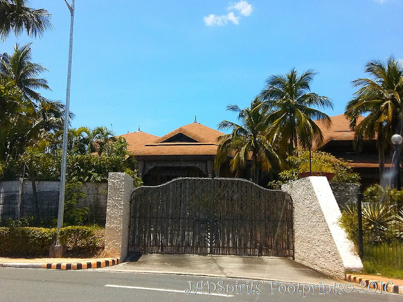 The Coconut Palace is a government guest house and cost 37 million Philippine pesos to build