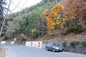 On the way to Nathia-Gali from Abbottabad.