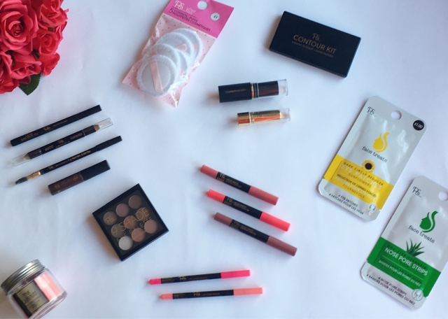 various beauty pieces from primark beauty