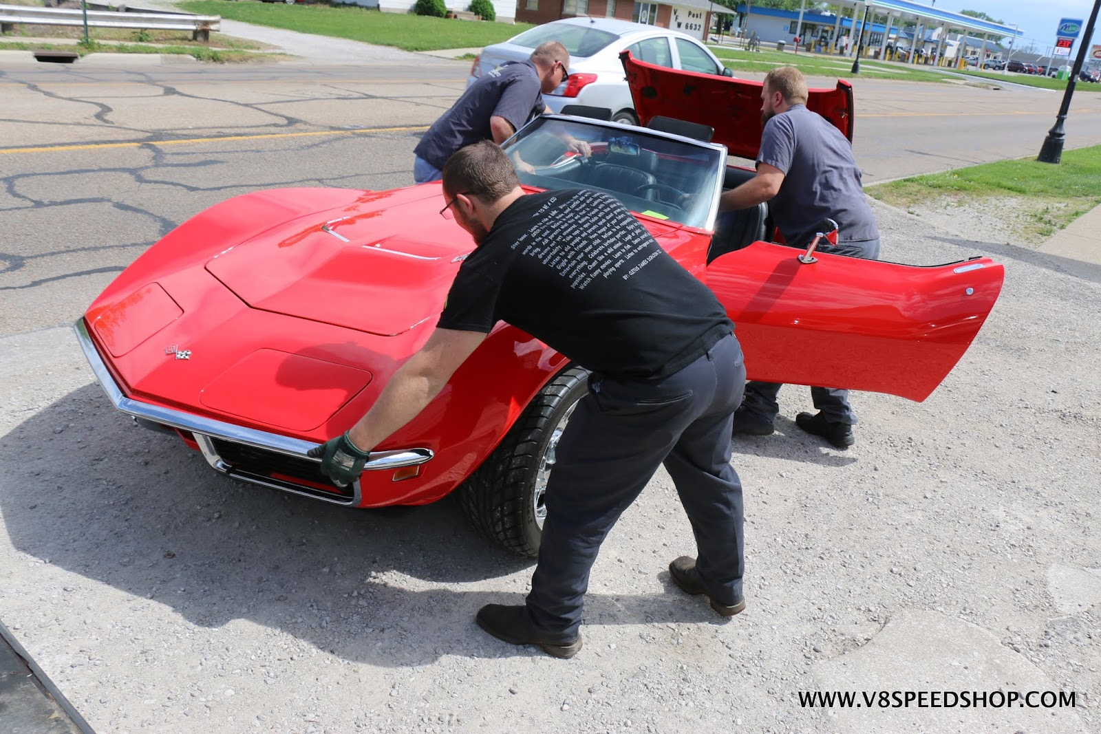 1969 Chevrolet Corvette LS3 T56 6-Speed Conversion at V8 Speed