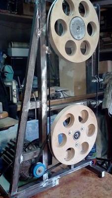 Ideias de ferramentas construídas com motor de maquina de lavar roupas