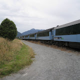 Got off the train at Jackson, NZ to get on the bikes