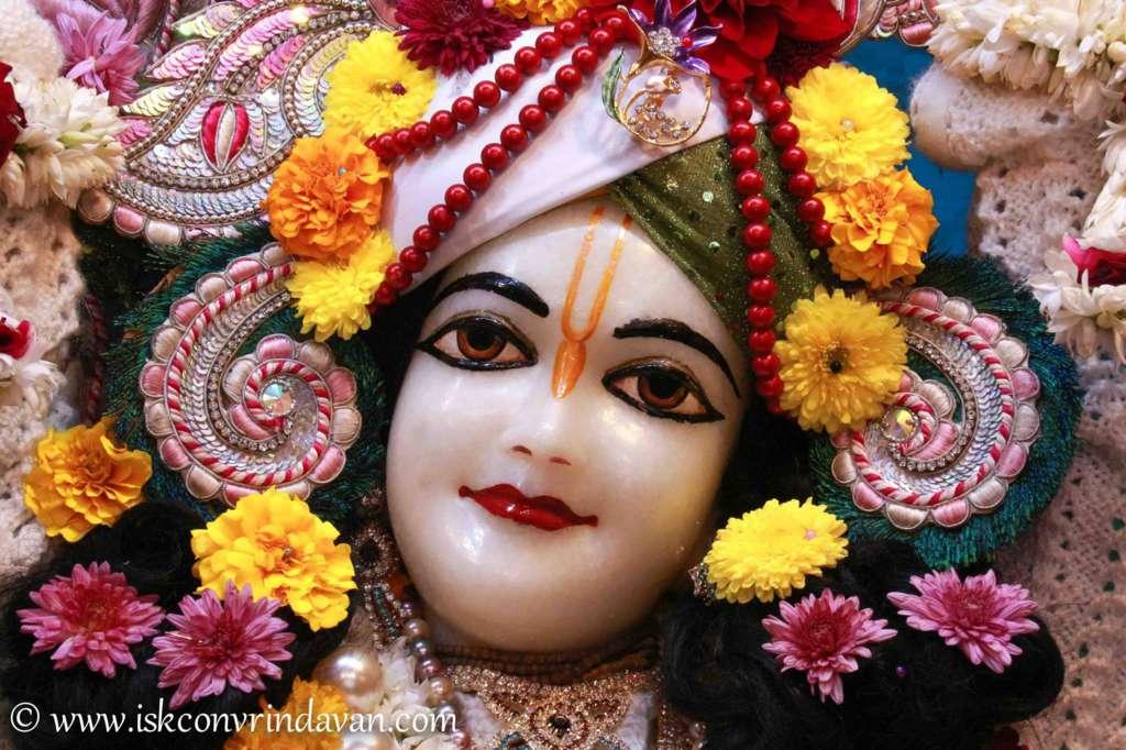 ISKCON Vrindavan Sringar Deity Darshan 17 Dec 2015 (6)