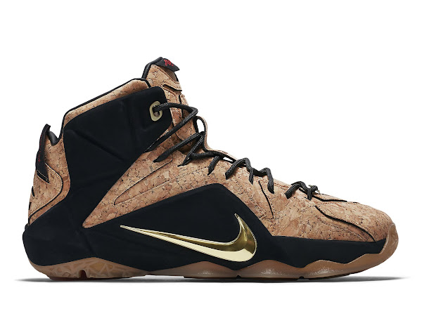 Release Reminder Nike LeBron 12 EXT Kings Cork Close Ups