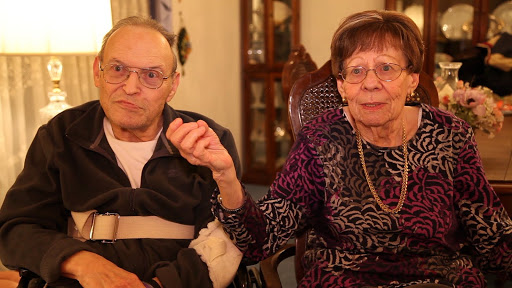 Ron and Marge Fenster. Ron is hilarious! From the film Pursuing Happiness