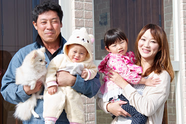 浅野さんご家族