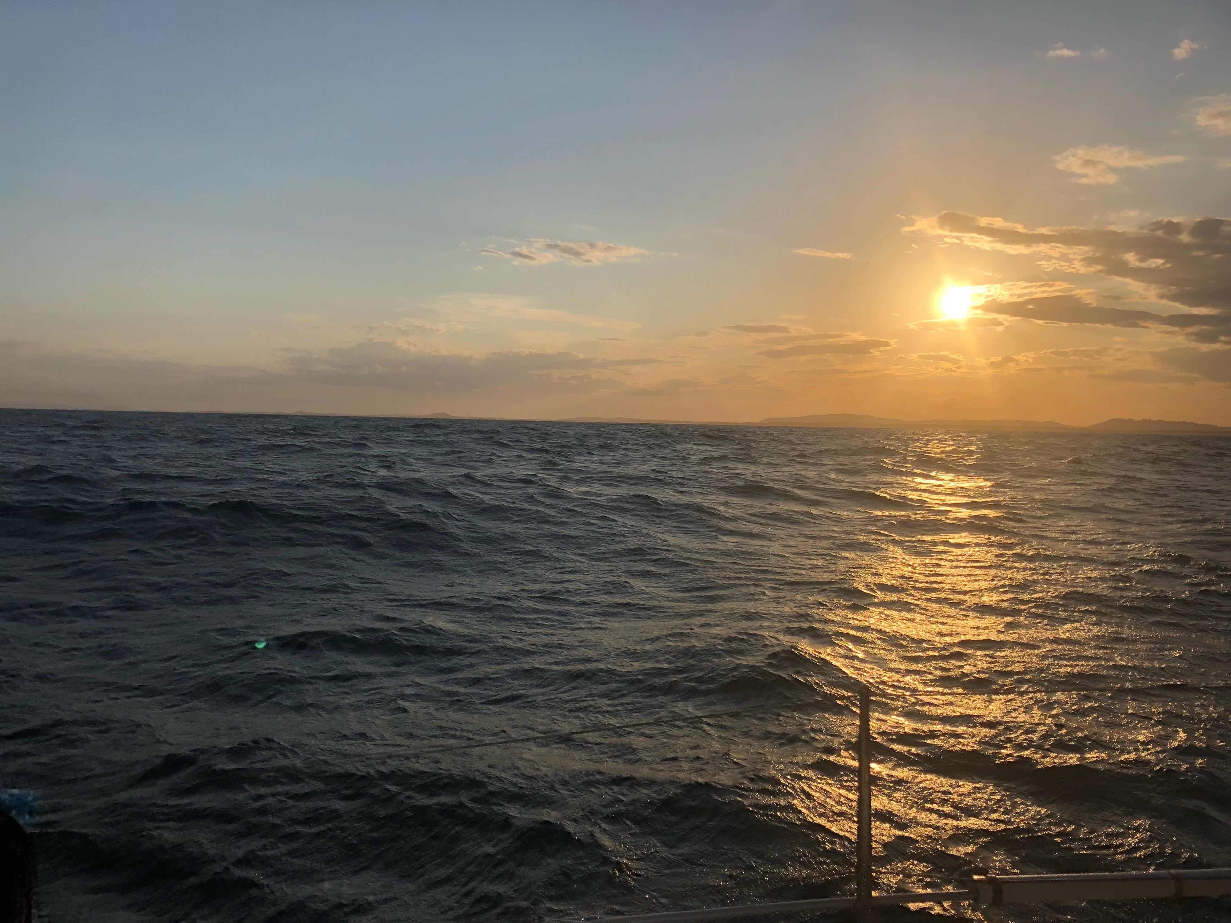 Drôle de mal de mer sur les côtes du pacifique sud