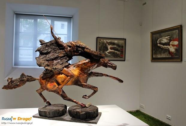 Kielce - Institute of design i wystawa prac Lubomira Tomaszewskiego