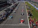 Start 2003 British F1 GP