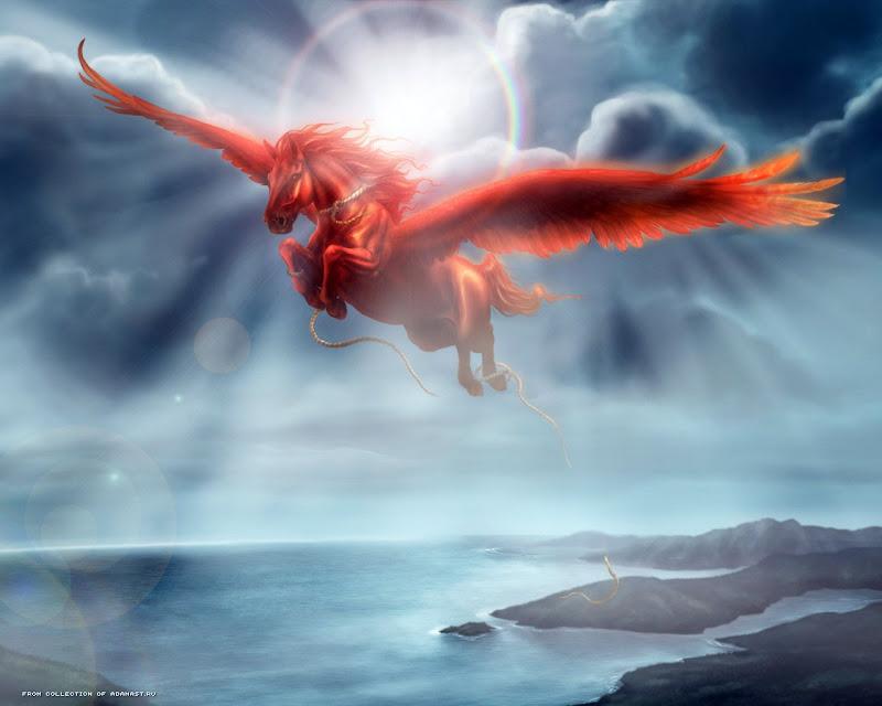 Red Flying Horse, Spirit Companion 4