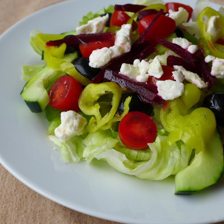Greek Salad with Beets