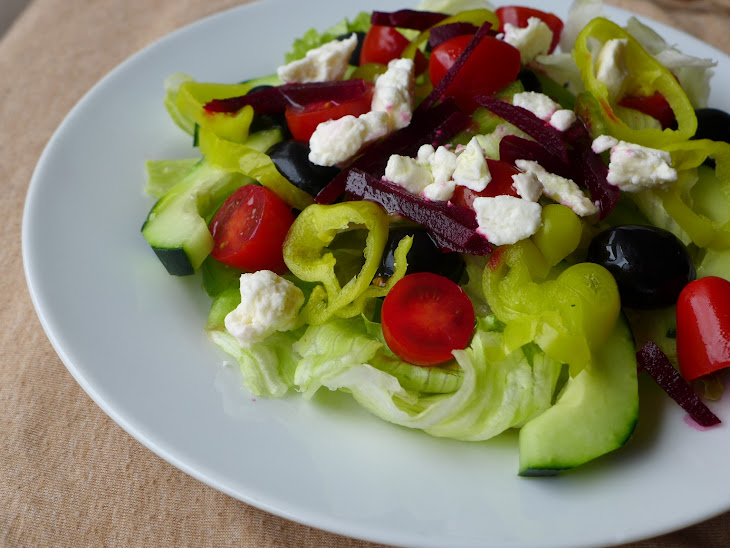 Greek Salad with Beets Recipe