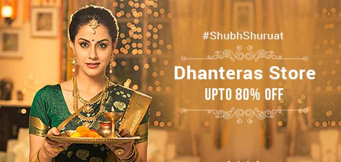 (Live) ShopClues Dhanteras Sale - Get Up to 80% Off