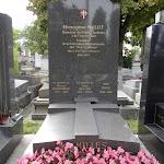 Cimetière de Belleville : tombe MAILLET Monseigneur (1896-1970) (Div.12), directeur de la chorale des petits chanteurs de la croix de bois
